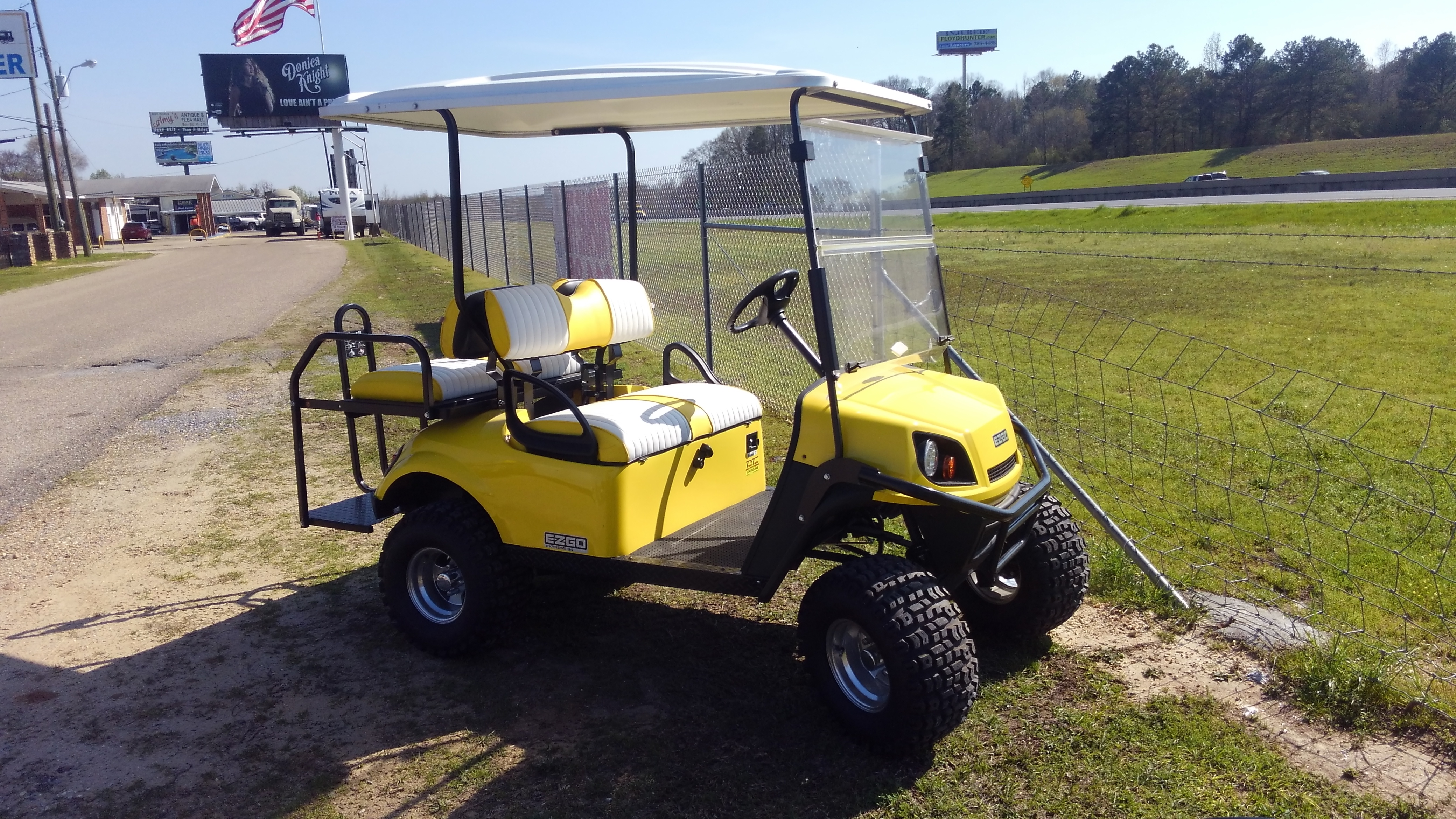 Golf cart Tallassee, AL