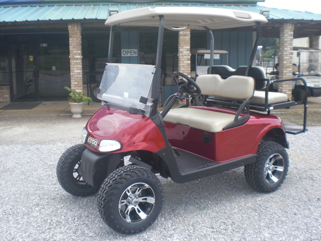 RED E-Z-GO CART