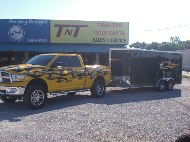 Custom Truck and Trailer