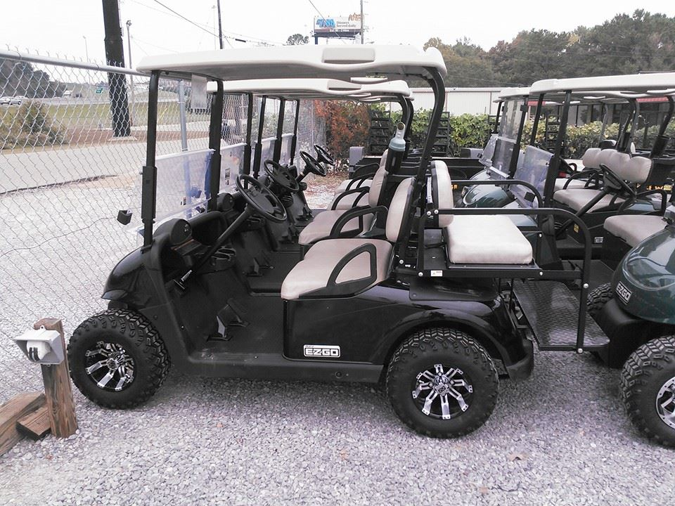2012 BLACK 48 VOLT CARTS