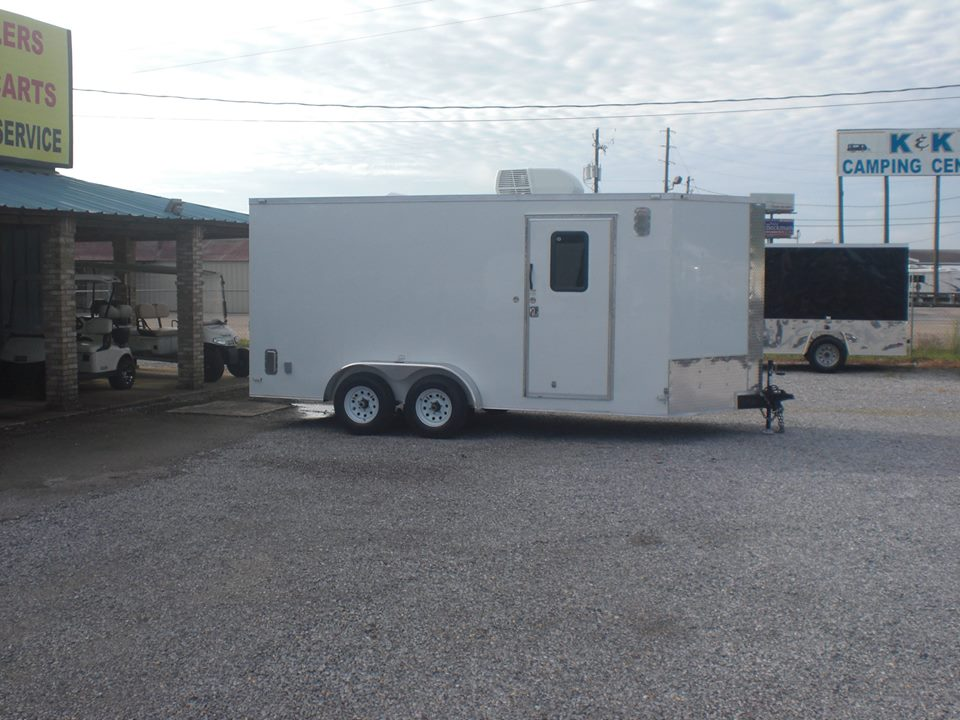 7X16 MULTI-PURPOSE TRAILER WITH A/C & HEAT