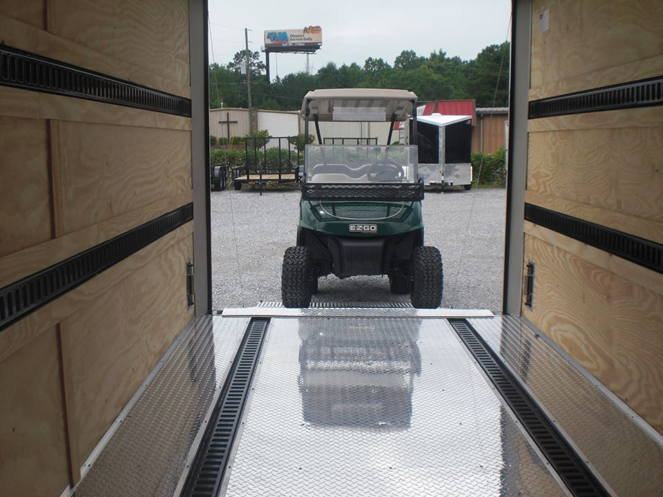 ALUMINUM FLOORS trailer