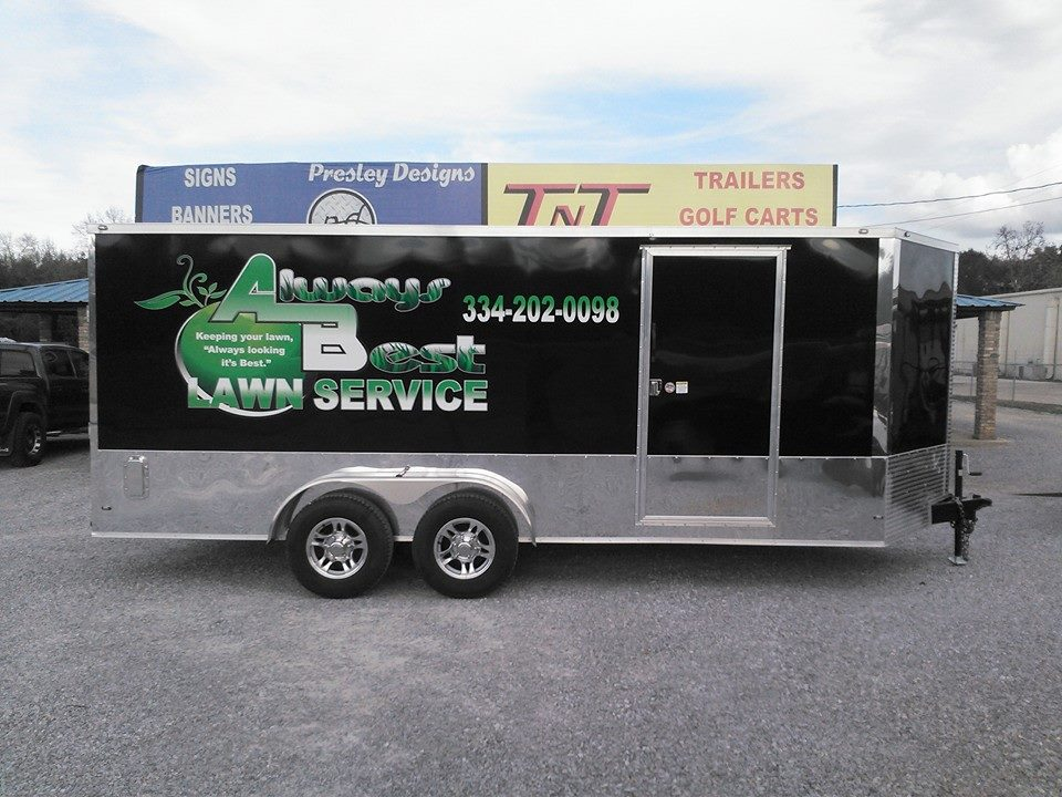 7x18 LAWN CARE TRAILER - TNT Outfitters Golf Carts, Trailers, Truck Accessories » Cargo