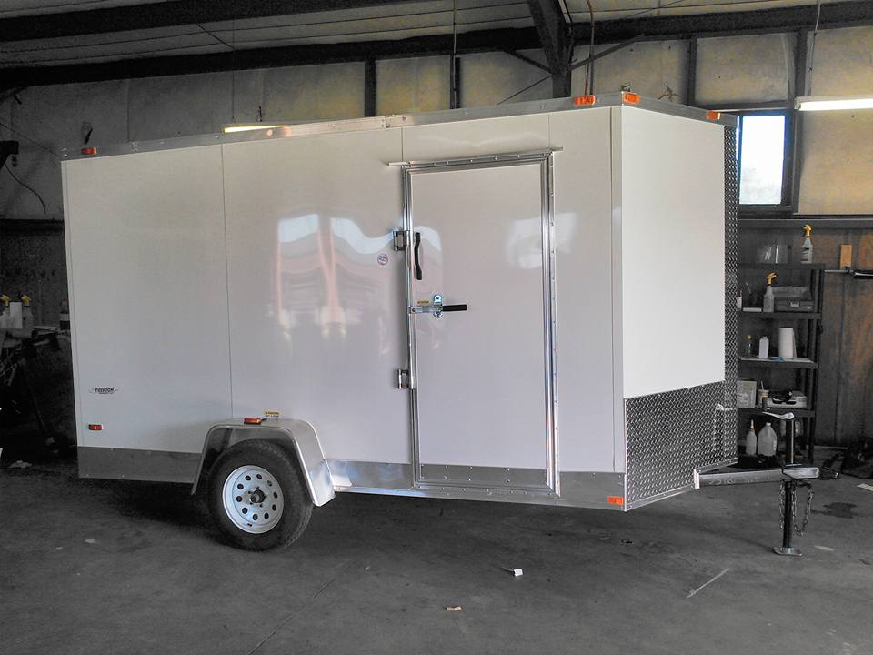 enclosed trailer, custom trailer