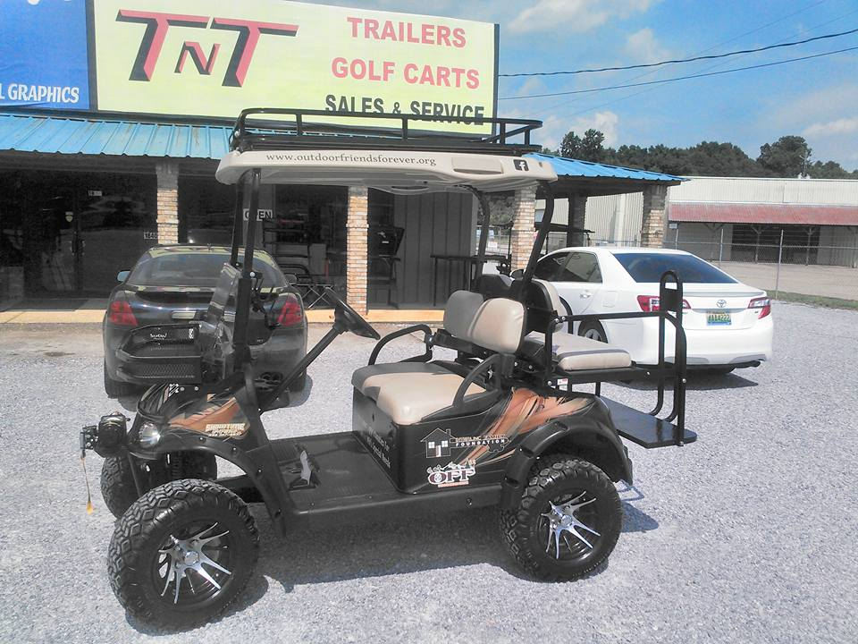 PHOTO 47: LET YOUR GOLF CART DO YOUR ADVERTISING FOR YOU WITH CUSTOM GRAPHICS