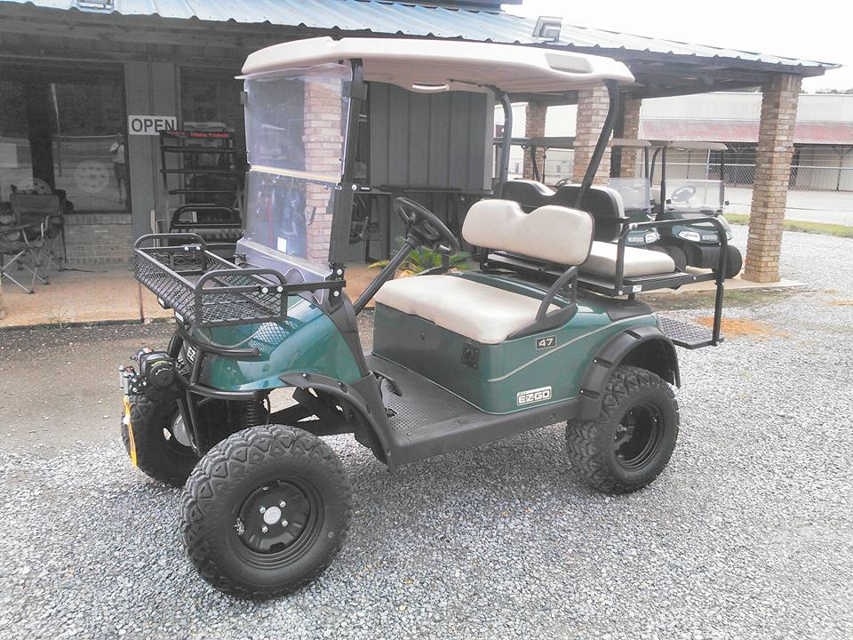 E-Z-GO GOLF CART WITH WINCH
