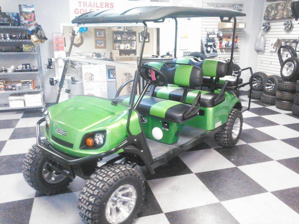 GREEN GOLF CART - Golf Carts Birmingham, AL
