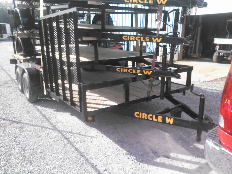 CUSTOM UTILITY TRAILERS VARIOUS SIZES