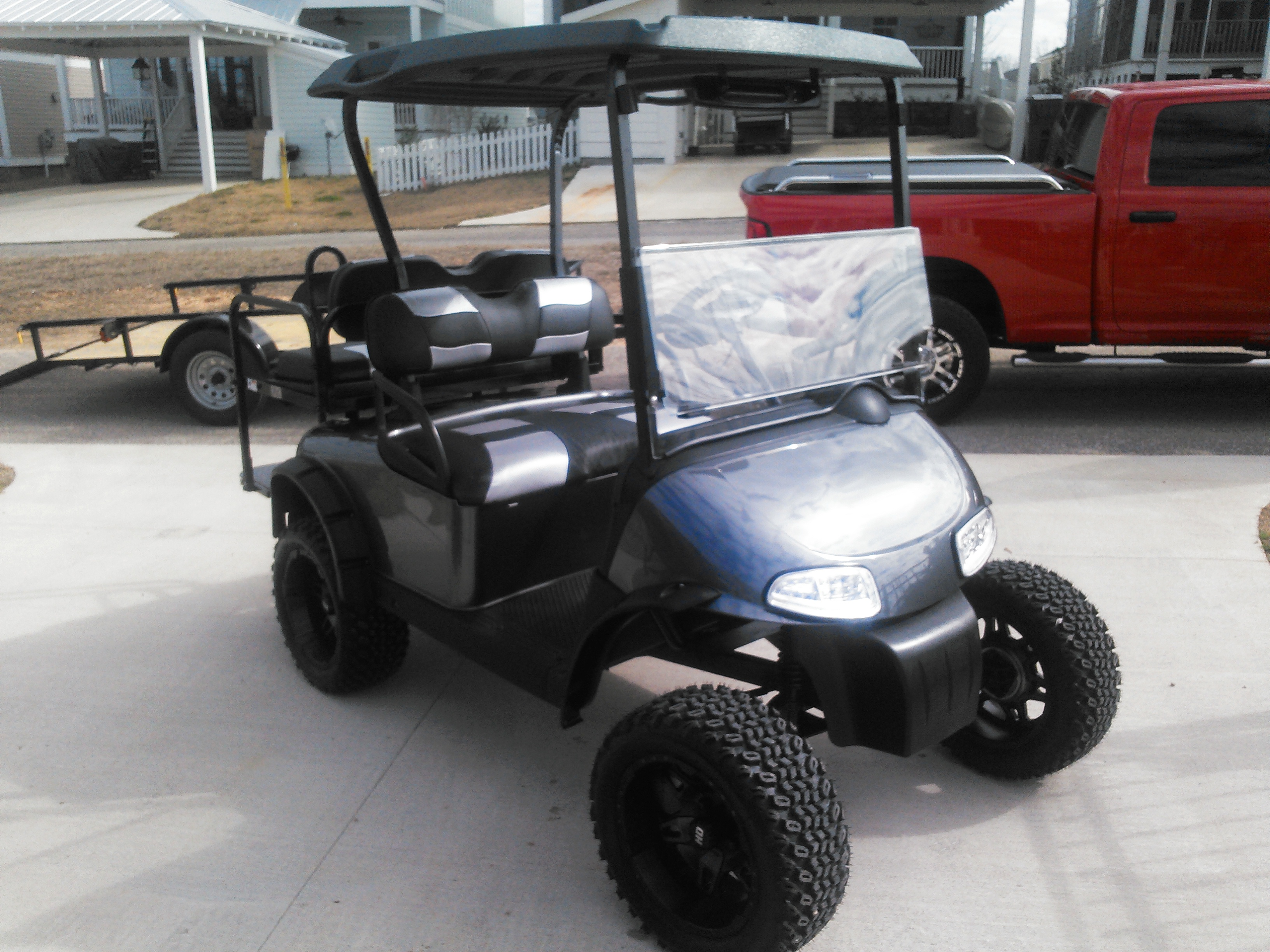Lifted Gas Golf Cart for Sale Greenville, AL